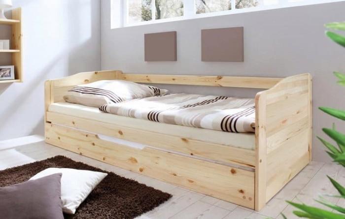 Jual Ranjang Susun Model Sofa Jati Belanda Bed 90cm Kota Bekasi