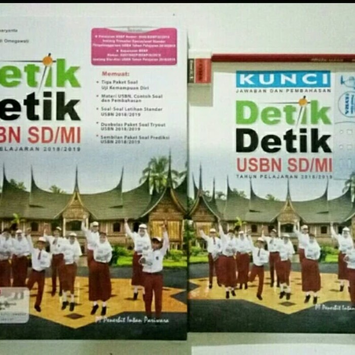 Kunci Jawaban Detik Detik Sd 20182019 Bahasa Indonesia Mata Pelajaran