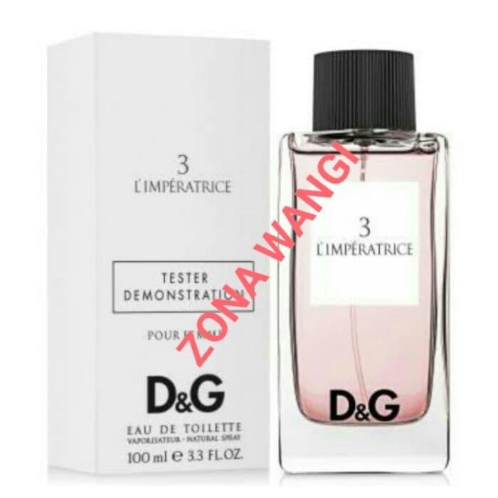c6276f5163c Jual Parfum Original - Dolce Gabbana L Imperatrice 3 Woman (Tester ...