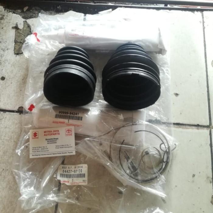 Foto Produk Boot as roda boot drive shaft Original Set Land Cruiser VX100 dari 39 Auto parts
