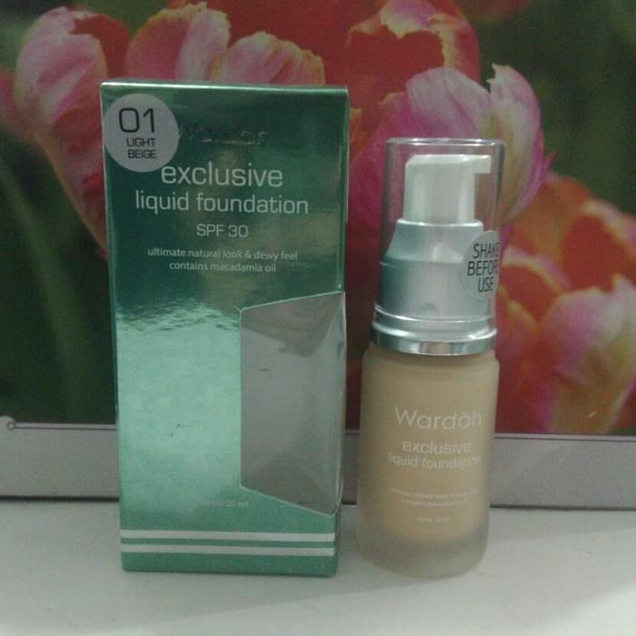 Wardah Exclusive Liquid Foundation
