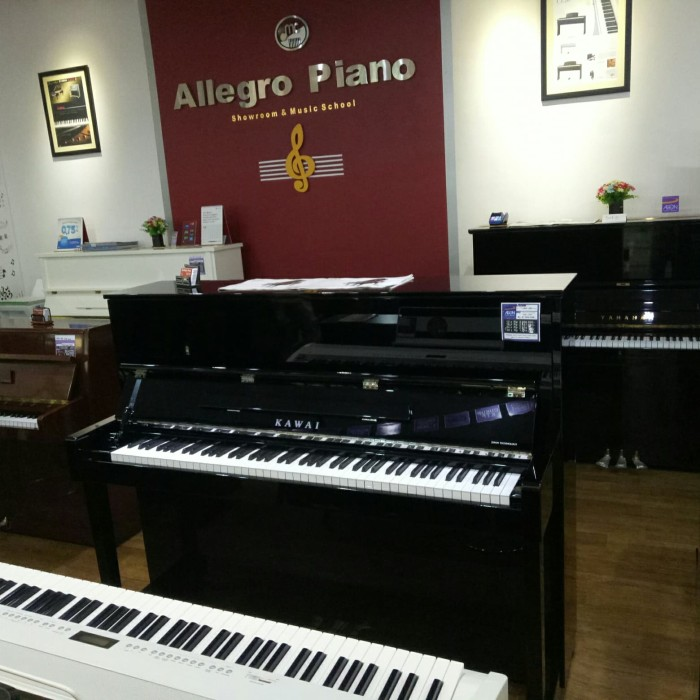 Jual Piano Kawai UM21 hitam - Kota Tangerang Selatan - allegro piano  |  Tokopedia