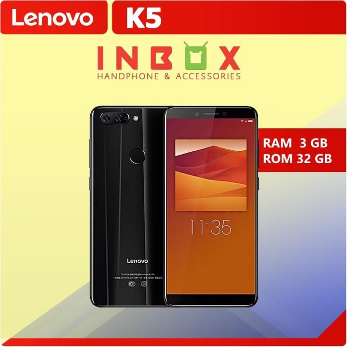 Jual Hp Lenovo K5 Ram 3gb Rom 32gb Bisa Fingerprint Dual Kamera Dki Jakarta Inbox Cellular Tokopedia