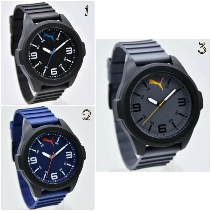 B19147 Jam tangan pria cowok Puma analog sporty for man original garan