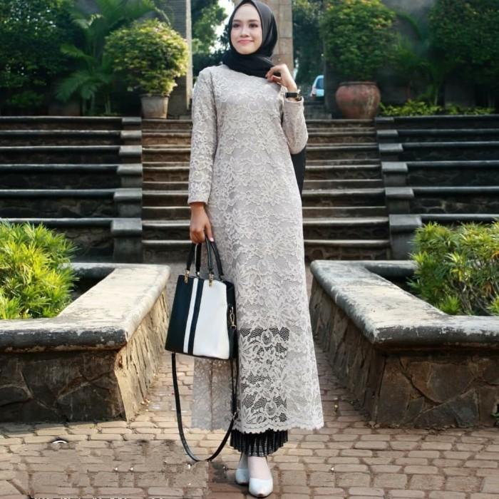 Jual Setelan Kebaya Brokat Semi Gamis Kota Tangerang Rumah Mode Khadijah Tokopedia