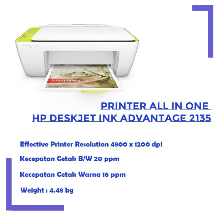 Printer HP Deskjet Ink Advantage 2135 - Putih