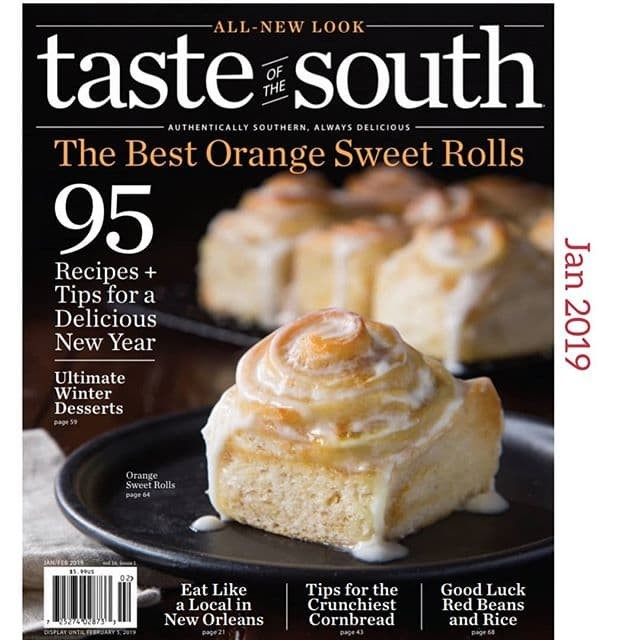 Ebook the taste of the south january 2019