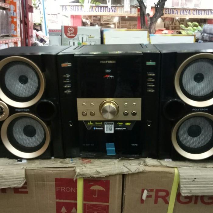harga Polytron compo mini hifi + bluetooth xl2910 xl 2910 - murah Tokopedia.com