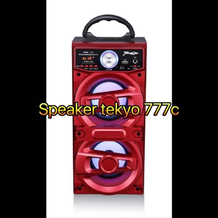 harga Speaker portable bluetooth mp3 tekyo 777c Tokopedia.com