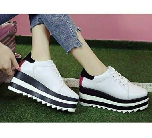 bcb7975bbe91 Jual Sepatu Wedges Sneakers Wanita SK0007P - Hola Collection 23 ...
