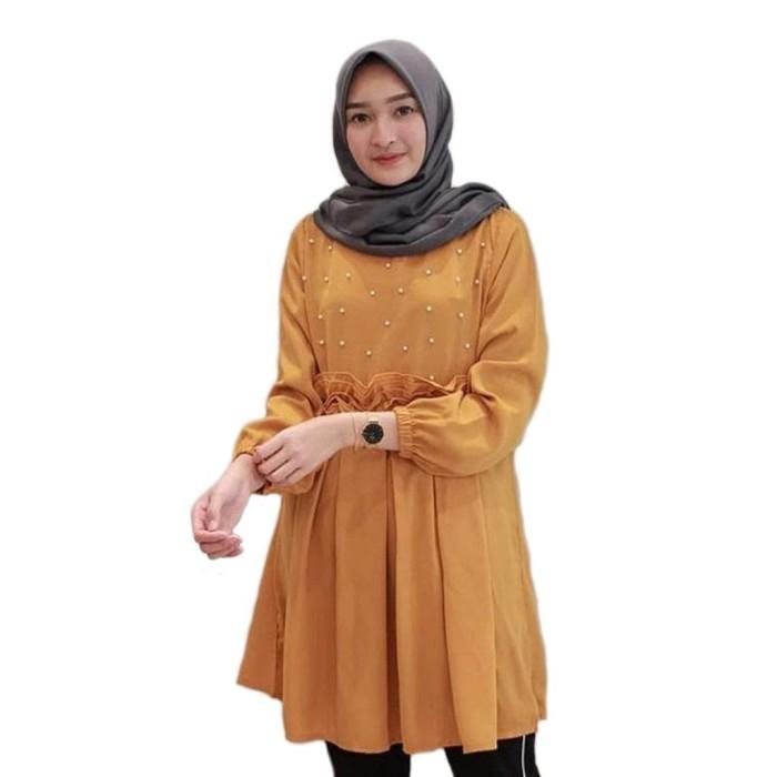 Jual Blouse  Fashion Wanita - Atasan - Blouse Atasan Spandek Korea ... 46a21e06ab