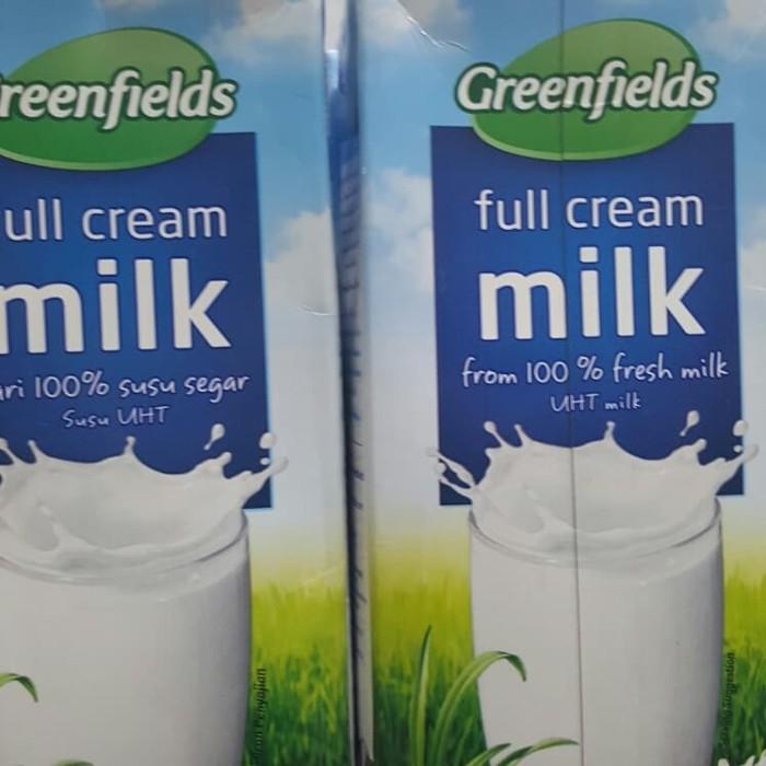 Greenfields Full cream milk 1000ml