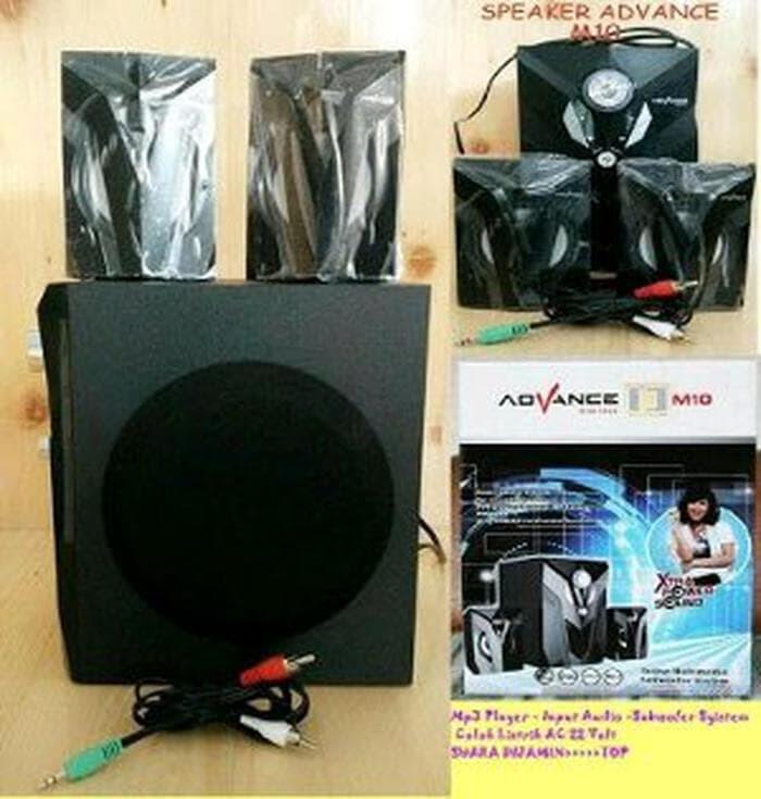 Speaker Aktif Bluetooth Radio USB Advance M10