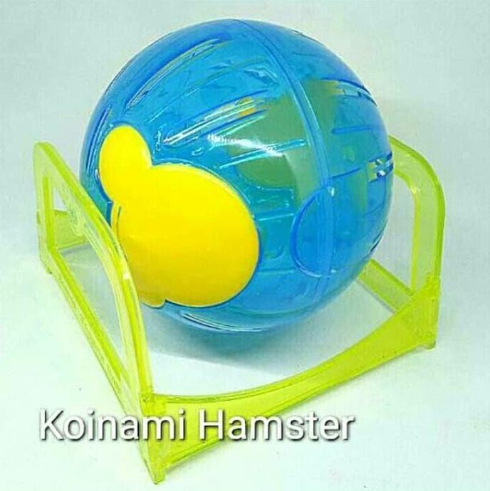 Joging Ball / Mainan Hamster / Aksesoris Hamster / Hamster