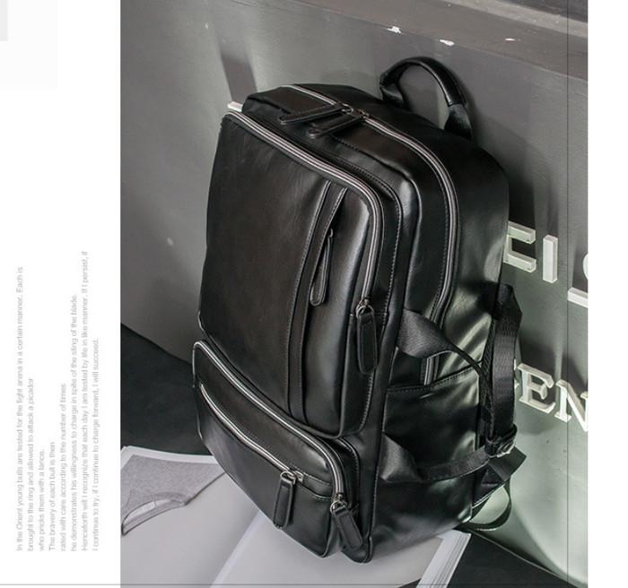 Jual Tas Ransel Kulit Pria Backpack Import Asli Murah Premium ... 2ba00279ad