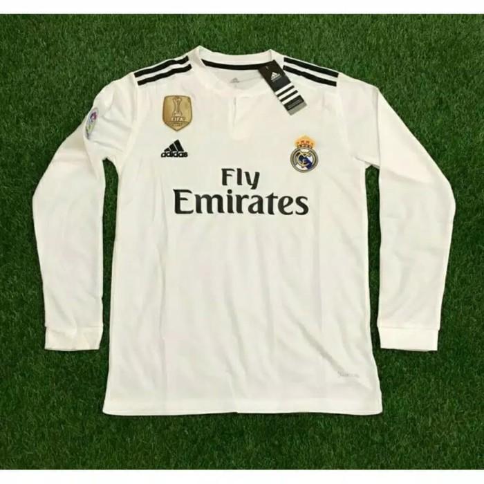 290f534e9 Jual Jersey Real Madrid Home Away LONGSLEEVE 18 19 -