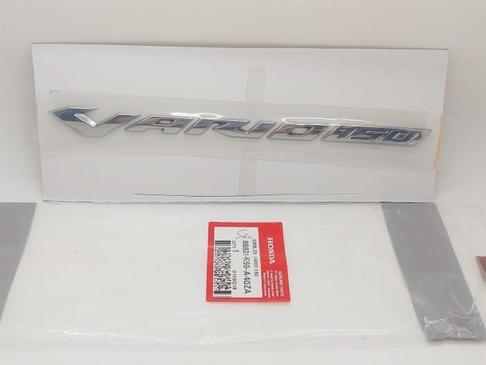 harga Emblem vario 150 new original honda k59a40 satuan Tokopedia.com