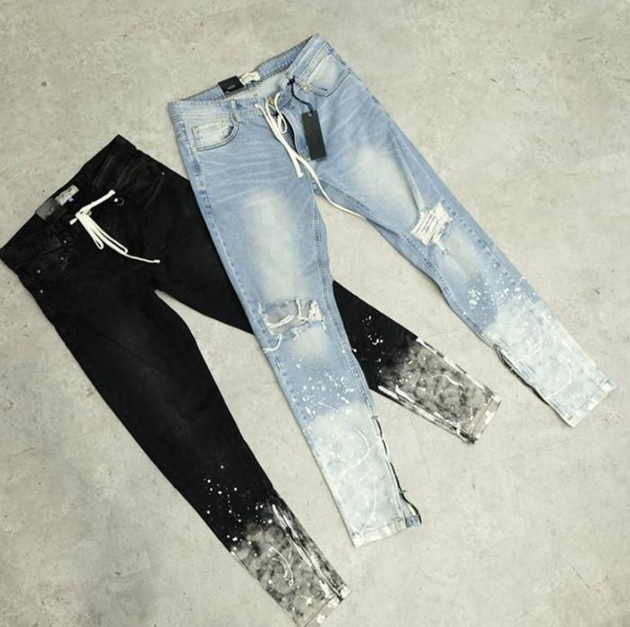 67a18309 Jual Hyper Denim Flame Nate Zipper Jeans - High Gentleman | Tokopedia