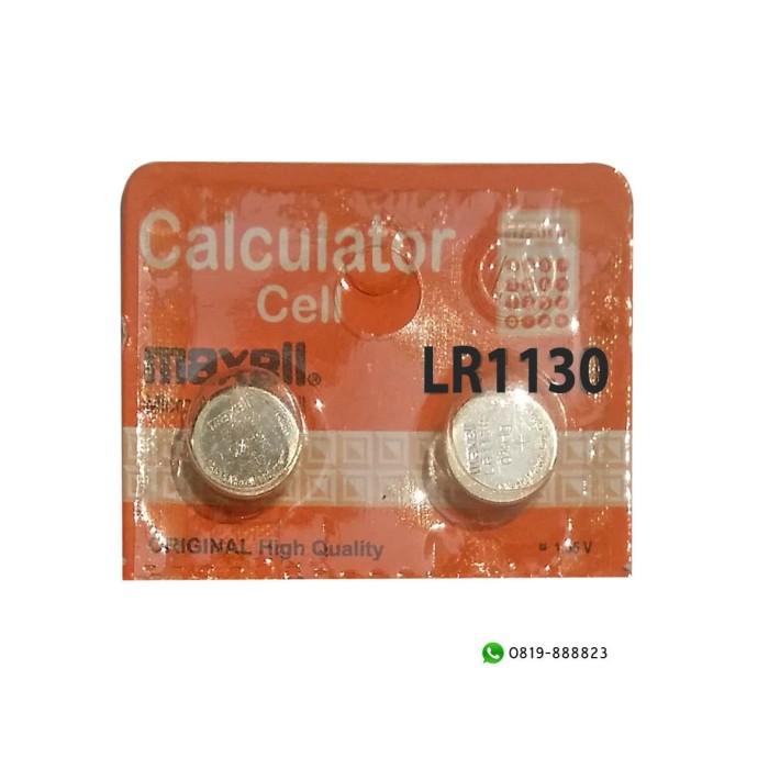 Baterai Kancing Maxell LR1130 Calculator Cell 1.55V