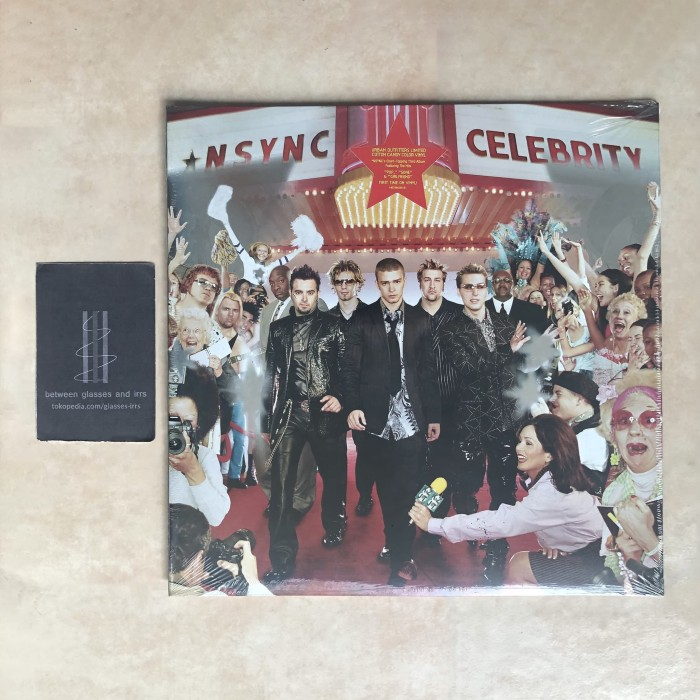 harga [vinyl lp] nsync - celebrity [cotton candy limited] Tokopedia.com