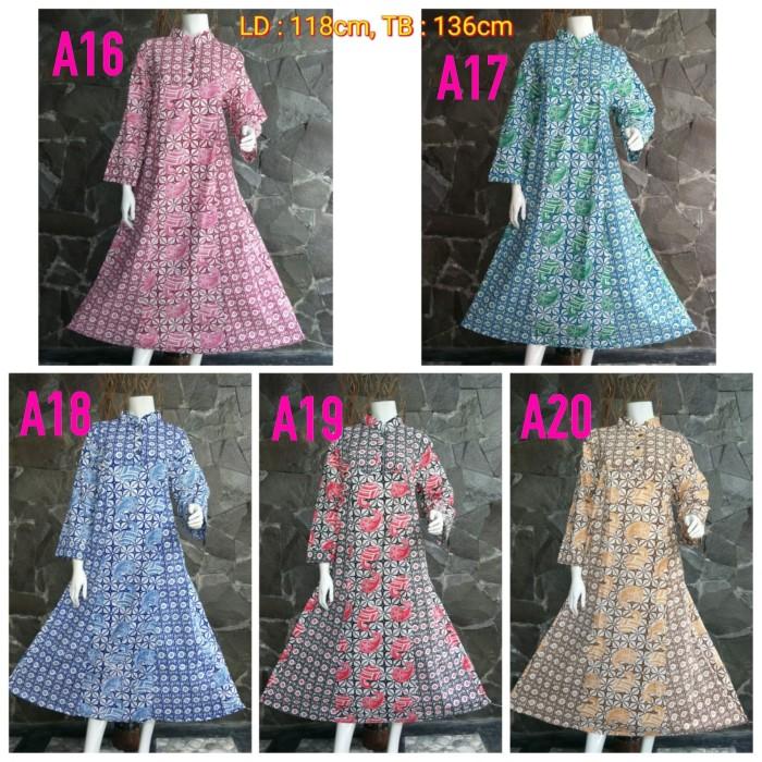harga Gamis etnik batik (baju hamil dan busui) muslim murah ukuran bigsize Tokopedia.com