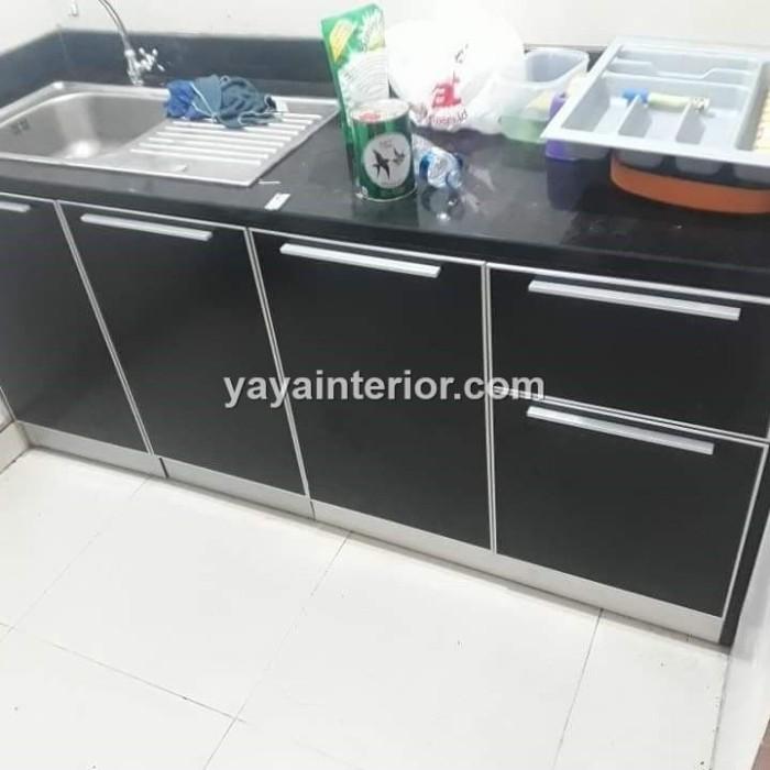 Jual Kitchen Set Aluminium Acp Kab Bogor Kitchen Set Aluminium Tokopedia