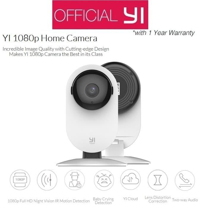 RESTOK Xiaomi Yi Xiaoyi Smart CCTV International Version 1080P IP Ca
