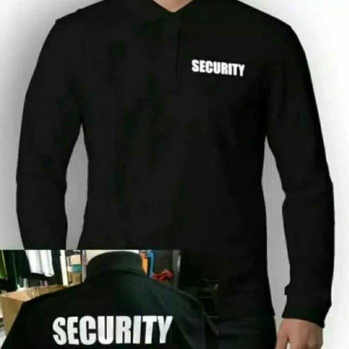Jual Kaos Polo Lengan Panjang Security Tulisan Depan Dan Belakang Abu Abu Muda L Kota Bekasi 45 Collection Tokopedia