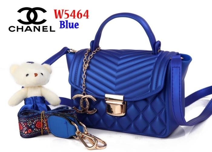 0f1a72d93ee8 Jual Tas Bag Impor Import Chanel Trapeze Jelly W5464 5464 Biru Blue ...