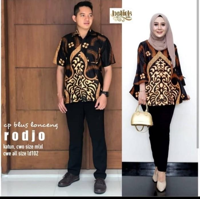 harga Batik solo couple blus lonceng rodjo batiek venus batik amanah Tokopedia.com