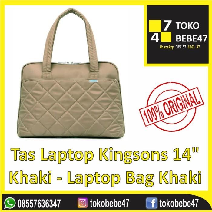 harga Tas laptop kingsons 14  khaki - laptop bag khaki Tokopedia.com