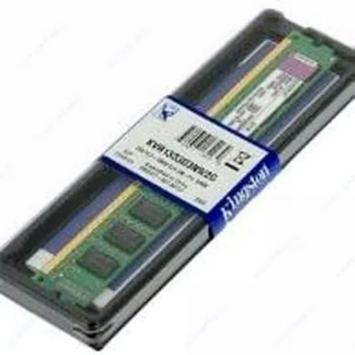 RAM PC DDR3 2GB PC12800 1600MHZ CL11 KINGSTON BARU MURAH BERGARANSI