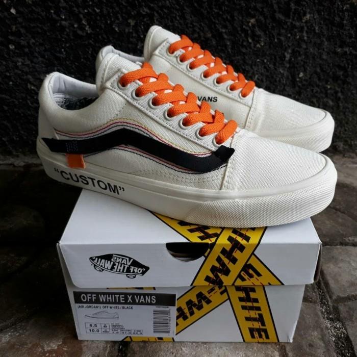 Jual Sepatu Vans Oldskool x Off White Air Jordan - Sepatu Harga ... 15ff5002b0