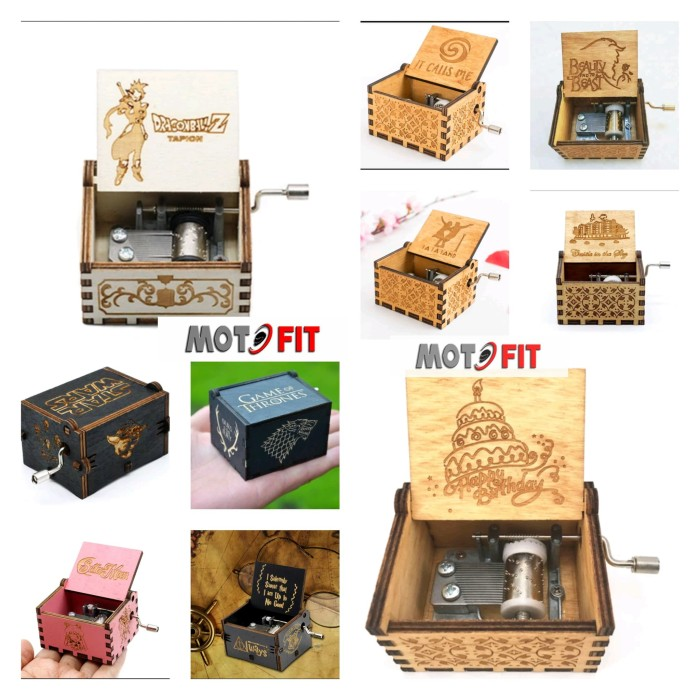 harga Best seller kotak musik music box ost box office movie film grosir ori Tokopedia.com