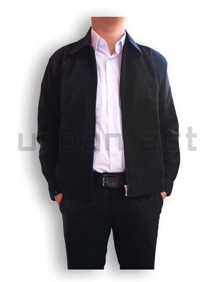 65+ Foto Jaket Pria Manset Zipper Bahan Formal Casual Terlihat Keren