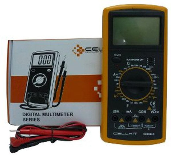 Multimeter Avometer Digital cellkit CK 9205d