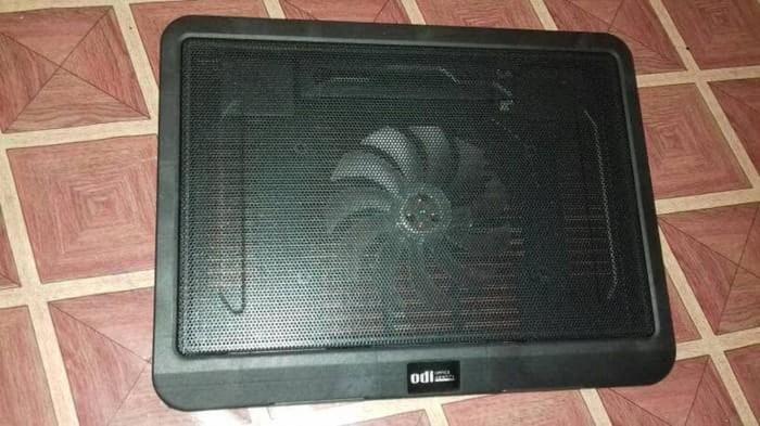 Cooling pad / Cooler fan / Kipas laptop notemate N19 1 fan - Hitam