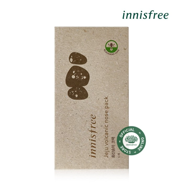 [innisfree] jeju volcanic nose pack 6 sheets