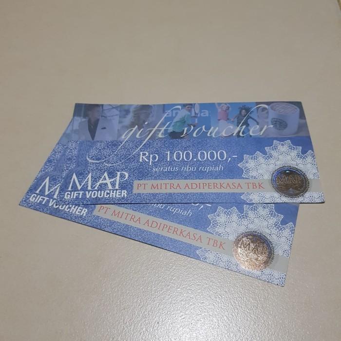 Voucher MAP 25 lembar @Rp.100.000 paket murah