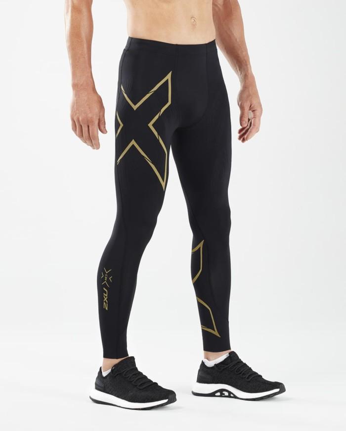 harga 2xu men's mcs run compression tights w back storage [ma5305b blk/grf] - emas xs Tokopedia.com