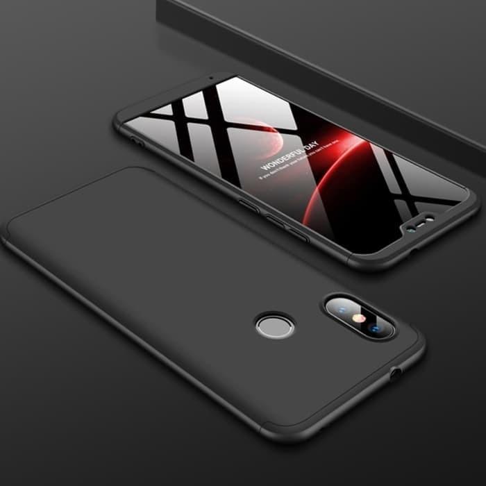 Foto Produk Case Xiaomi Mi A2 Lite Hardcase GKK 360 Redmi 6 Pro Tempered Glass dari leaderonly