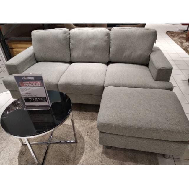 Jual Promo Akhir Tahun Carvel Corner Sofa Informa Sofa Minimalis
