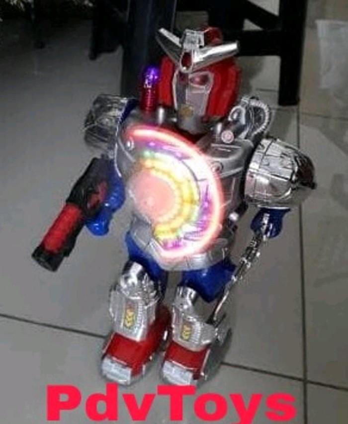 Jual Mainan Robot Baterai Dengan Lampu Suara Dan Bisa Jalan Extreme