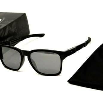 cc7f20cc45 Sunglasses OAKLEY CATALYST POLISHED BLACK W  BLACK IRIDIUM (OO9272-02)