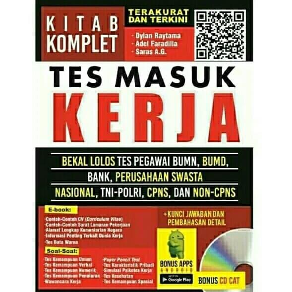 Jual Tes Masuk Kerja Original Jakarta Original Books Tokopedia