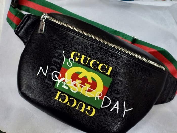 Jual Tas Selempang Tas Bahu Sling bag Waist bag GUCCI Pria Original ... 668869ba3a