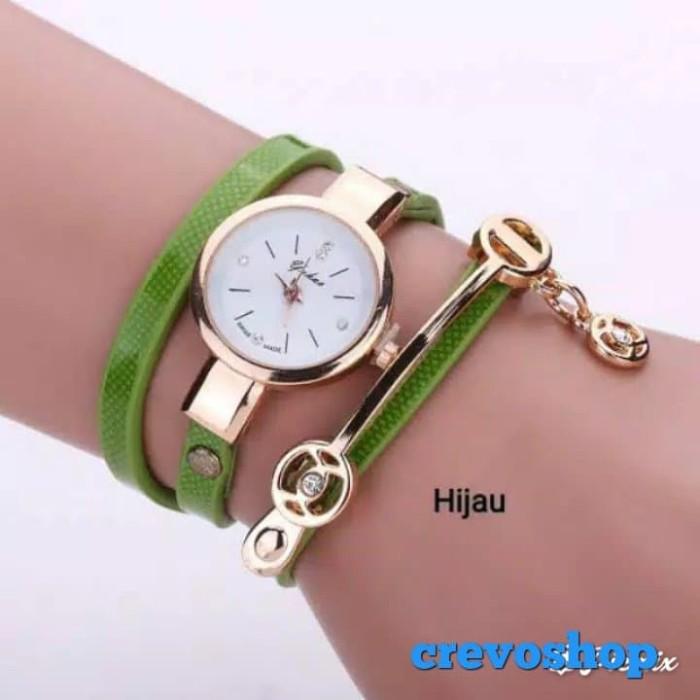 jam tangan UNIQUE jam tangan gelang lilit spesial untuk wanita