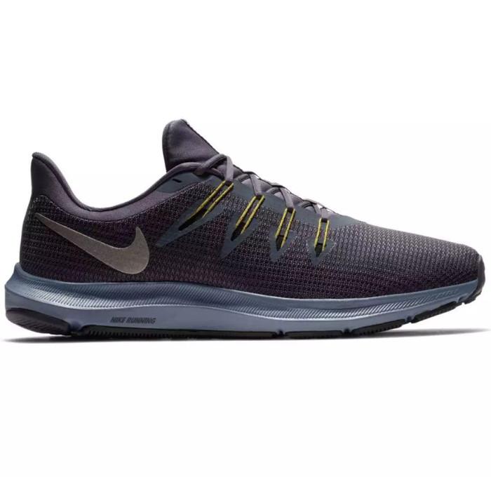 Jual Nike - Quest Sepatu Lari Pria - Abu-abu - S3patu Shop  88701074aa