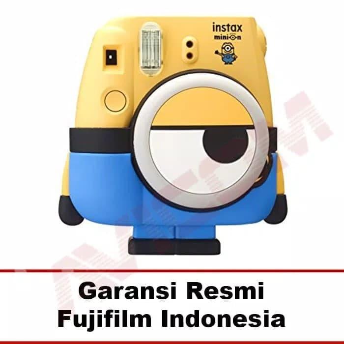 Kamera Polaroid Fujifilm Instax Mini Minion + Refill