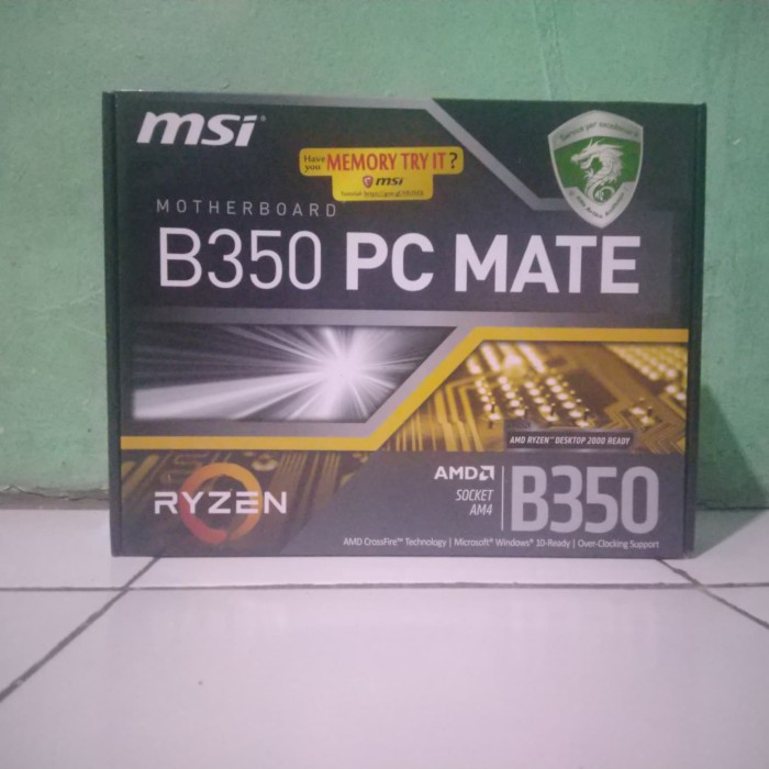Jual motherboard MSI PC MATE socket AM4 - Kab  Bekasi - Bim'z store |  Tokopedia
